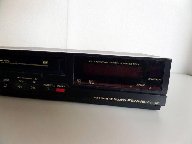 Videoregistratore VHS Fenner VR 3600 (anni 90) GUASTO - Foto 5