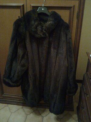 Vendo pelliccia visione ecologica