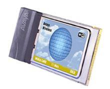 Avaya Wireless world card 11 Mb/s Silver nuova