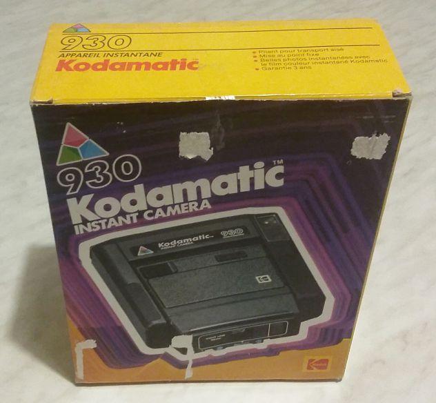 Kodamatic 930 instant camera scatola/fermagli in polistirolo nuovo