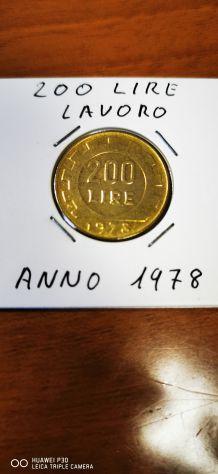 200 LIRE LAVORO ANNO 1978