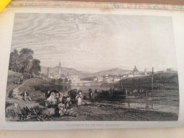 THOMAS ROSCOE THE TOURIST IN ITALY. LANDSCAPE ANNUAL 1832 - Foto 5
