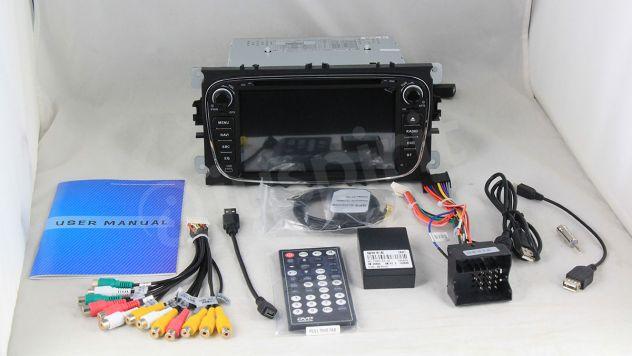 GPS DVD BT autoradio 2 DIN navigatore Ford Focus Mondeo C-Max Galaxy - Foto 8