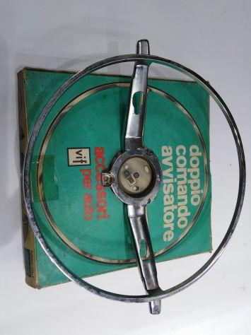 Pulsante clacson comando acustico servoclacson volante Fiat 1300 - 1500