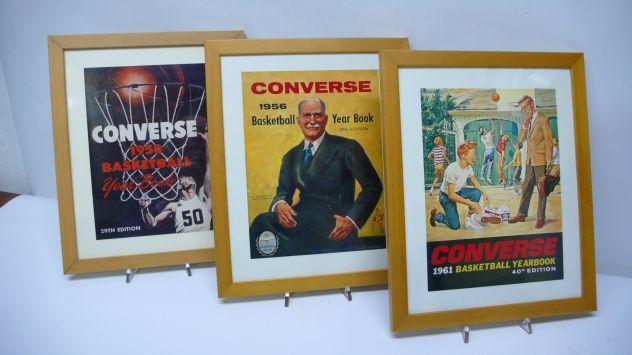 Converse quadri vintage 1950 1956 1961