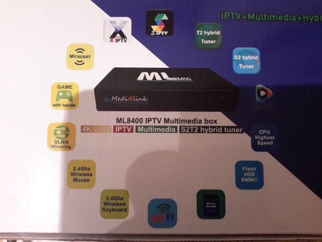 Ricevitore digitale medialink ml 8400