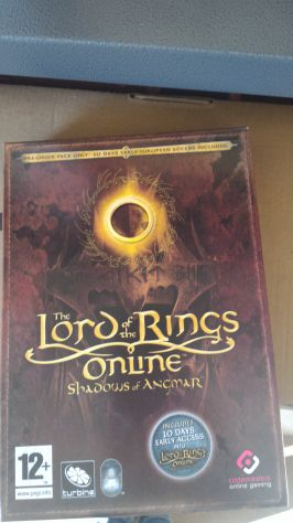 Vendo (o Scambio con Gioco PS4) Gioco del Signore degli Anelli per PC