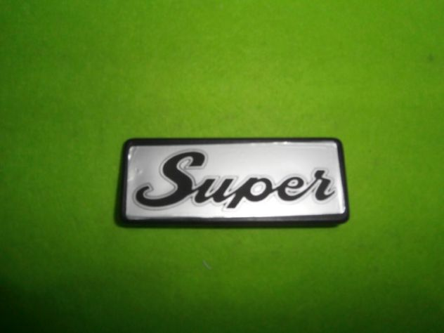 Fiat 127 Super logo mascherina anteriore  NUOVO