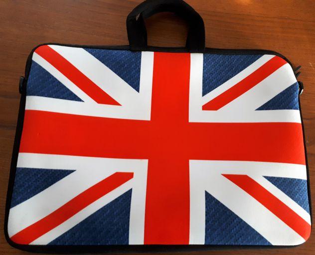 Borsa Custodia per PC Portatile Bandiera Inglese