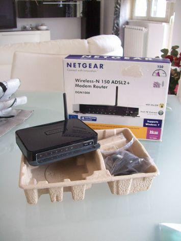 Router Modem Wi Fi Netgear DGN1000 Wireless-N 150