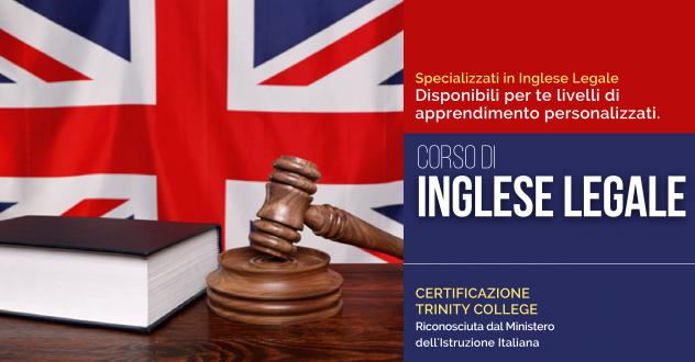 CORSO DI INGLESE LEGALE