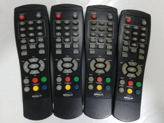 Telecomando DTT DigiQuest guasto pezzi di ricambio