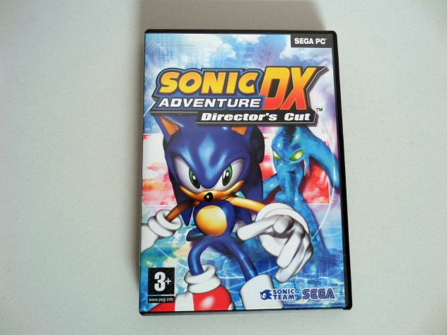 Sonic DX Adventure Director's cut PC (come nuovo)