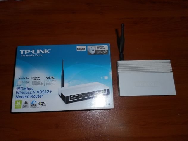 Modem router adsl wifi TP LINK