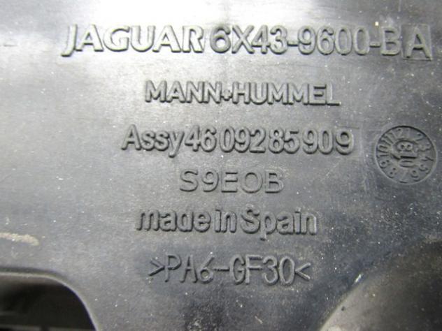 6X43-9600-BA SCATOLA FILTRO ARIA JAGUAR X-TYPE CF1 2.2 107KW 5P D AUT (2009 … - Foto 3