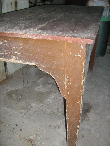 antico tavolo primi '900 - Foto 3