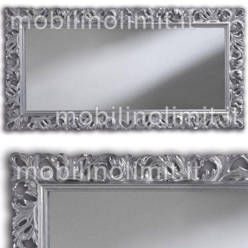Specchiera in Foglia Argento - Nuovo
