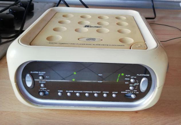 RadioSveglia Dual AM/FM Stereo con lettore CD. - Foto 2