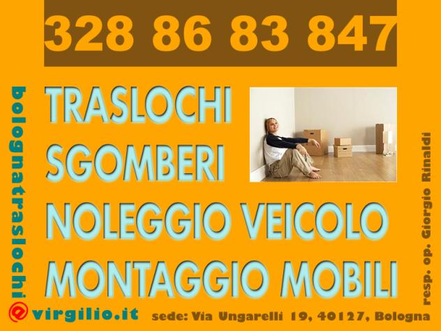 Il trasloco facile a Bologna-- MONTAGGIO MOBILI & TRASLOCHI & SGOMBERI - - Foto 2