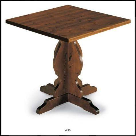 Tavolo da pub e birreria mod.R121, gamba tornita tipo - Foto 2