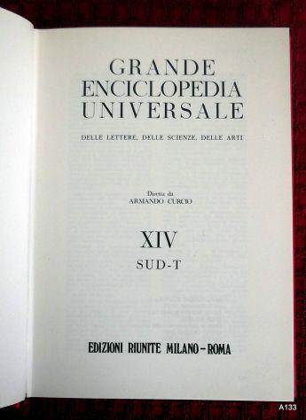 GRANDE ENCICLOPEDIA UNIVERSALE DIRETTA DA ARMANDO CURCIO. - Foto 3