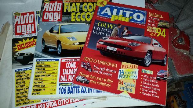 Riviste Auto inizio anni '90