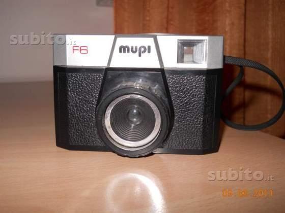 Macchina fotografica MUPI F6 anni 70