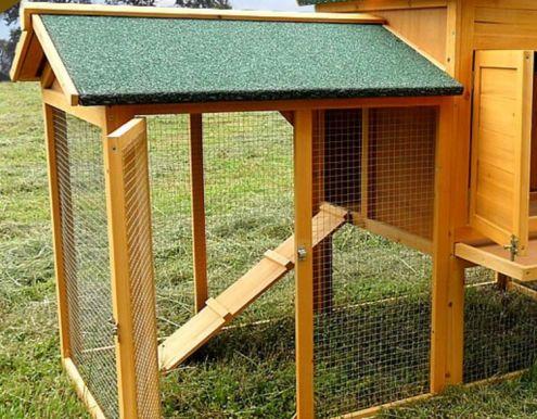 Pollaio in legno da giardino cortile - NUOVO - consegna GRATIS