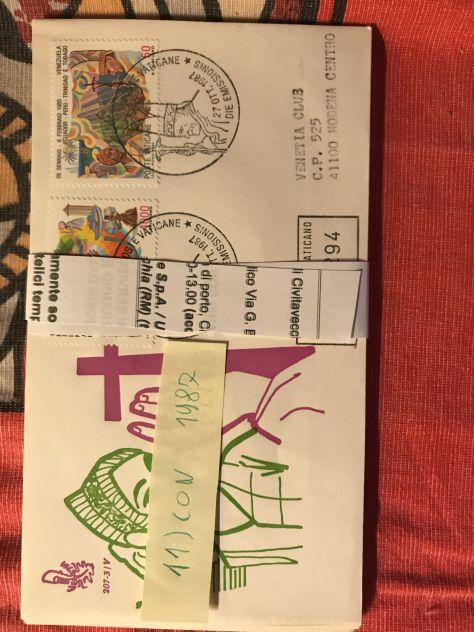 63 cartoline e buste di Vaticano