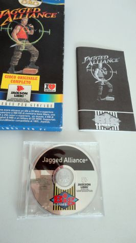Jagged Alliance ITALIANO,PC (big games oro) vintage - Foto 4