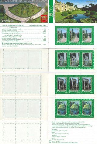 Francobolli nuovi annata 1995 Vaticano - Foto 10