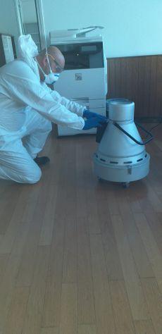 Disinfezione ambienti e di Impianti Aeraulici - Foto 5