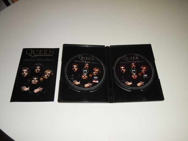 "DvdComeNuovoOriginaleCompletoConcerto:Queen""Greatest Video Hits 1&quot … - Foto 4"