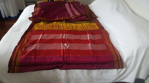 Shantung di seta per sari