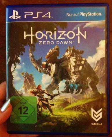 Horizon Zero Dawn PS4 Playstation 4 Gioco Videogioco edizione multilingua italia