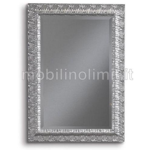 Specchiera foglia argento - Nuovo