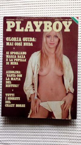 PlayBoy del 1977 Gloria Guida