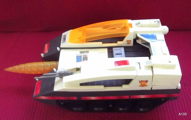 RARA VINTAGE SABAN VR TROOPERS BATTLE CRUISER 1995 BY KENNER