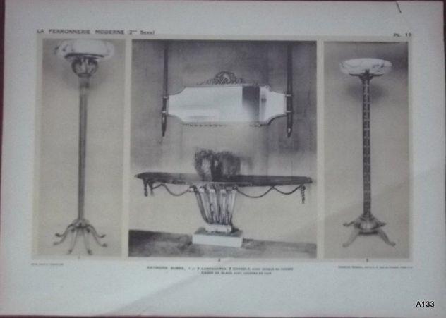 1925 CLOUZOT: LA FERRONNERIE MODERNE PORTFOLIO - Foto 5