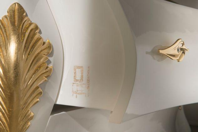 Mobile bagno stile barocco moderno massello top oro24k annunci belluno