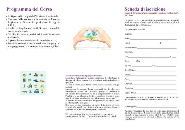 """Corso di Formazione per """"Ispettore Ambientale"""" (comunale/volontar … - Foto 2"""
