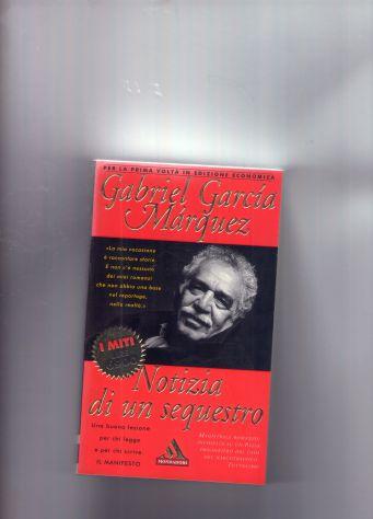 Gabriel Garcia Marquez, Notizia di un sequestro, Mondadori