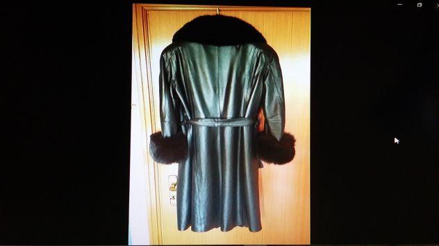 promo code c900b db66d Cappotto in pelle di vitello e pelliccia di volpe - Annunci Bari
