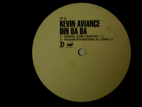 Vinile 45 rpm promo - Kevin Aviance DIN DA DA - Foto 5