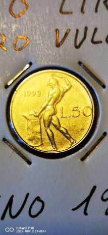 50 LIRE VULCANO MICRO ANNO 1993