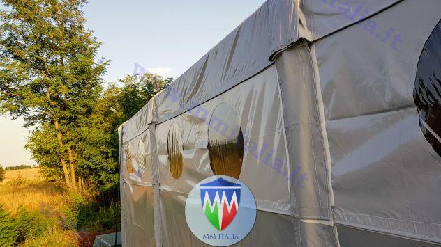 Tendoni Coperture Tunnel  per camper roulotte 4 x 10 MM Italia - Foto 5