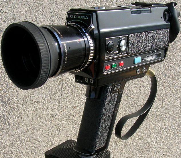 Videocamera COSINA 736 HI-Delux  silent super 8 cartridge made in Japan - Foto 2