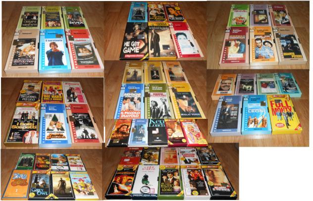 cassette VHS film da collezione