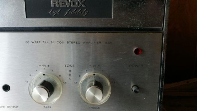 Amplificatore stereo revox a50 - Foto 3