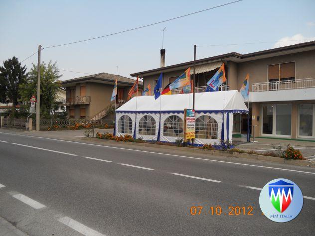 Strutture in Pvc 4 x 10 Professionali per Bar Ristoranti Giardino - Foto 10